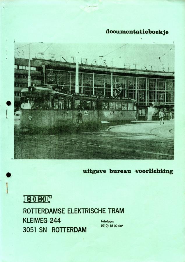 Documentatieboekje RET