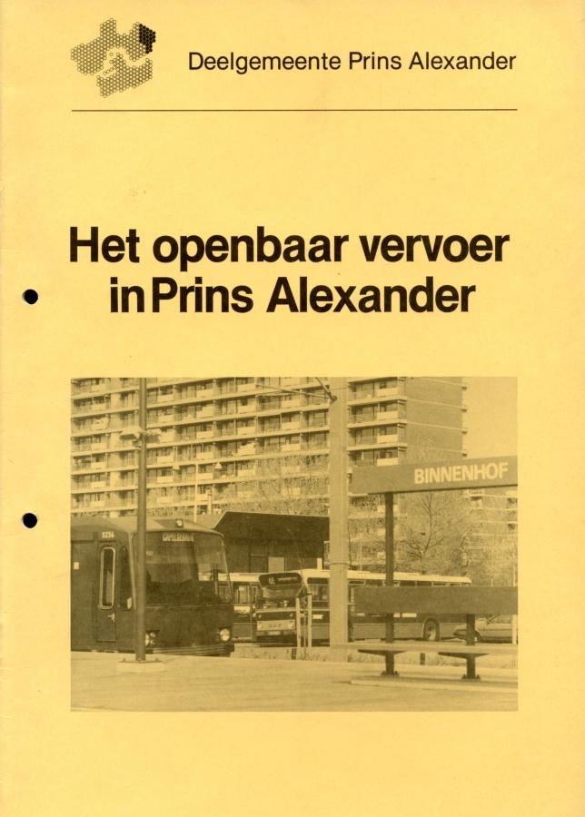 Het openbaar vervoer in Prins Alexander