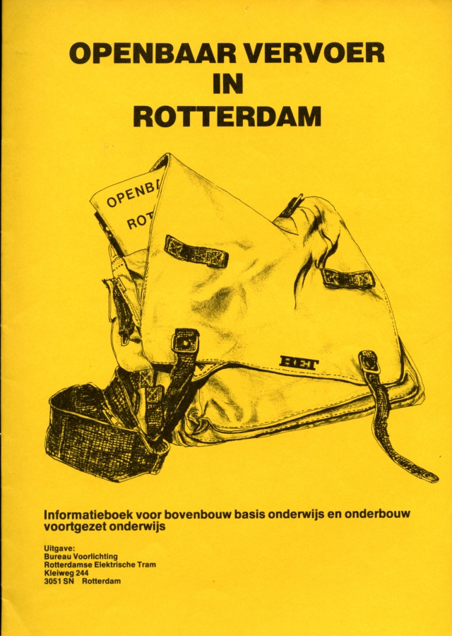 Openbaar Vervoer in Rotterdam (1983)