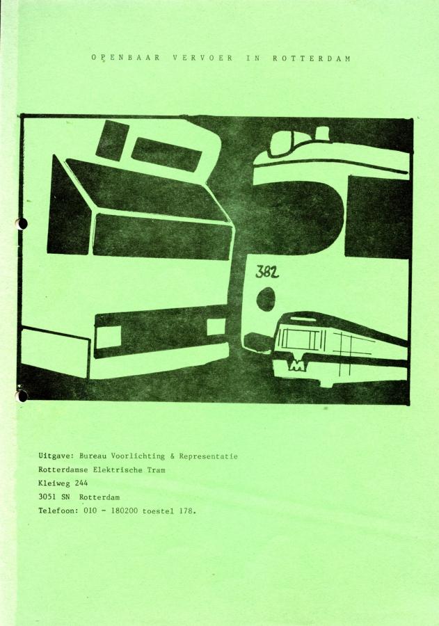 Openbaar vervoer in Rotterdam (1981)