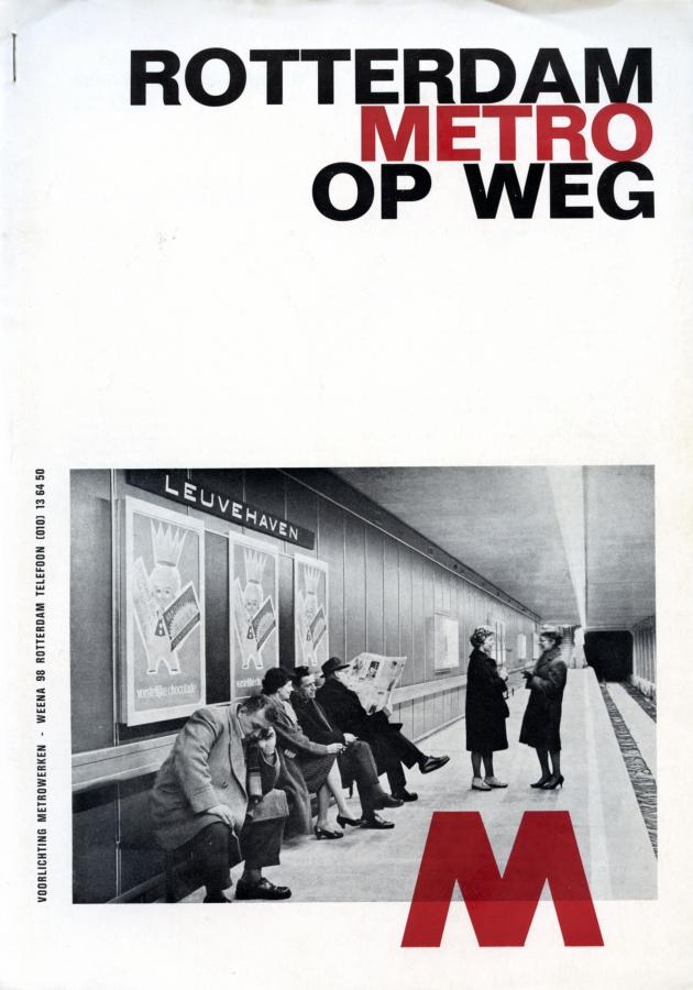 Rotterdam Metro op weg