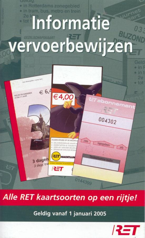 info vervoersbewijzen 1-1-2005