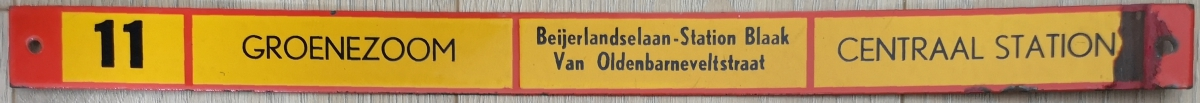 Lijn-11-Groenezoom-Centraal-Station