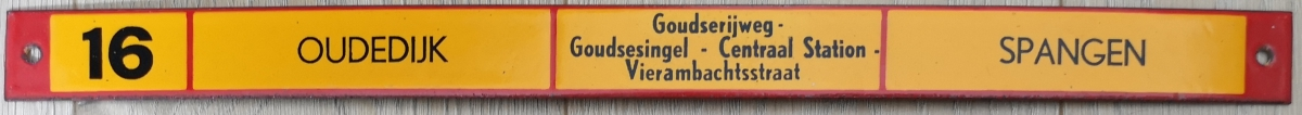 Lijn-16-Oudedijk-Spangen