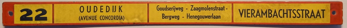 Lijn-22-Oudedijk-Vierambachtsstraat