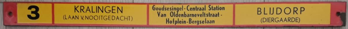 Lijn-3-Kralingen-Blijdorp