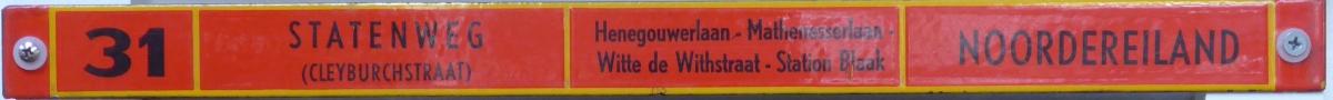Lijn-31-Statenweg-Noordereiland
