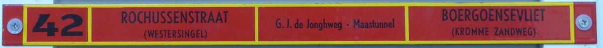 Lijn-42-Rochussenstraat-Boergoensevliet