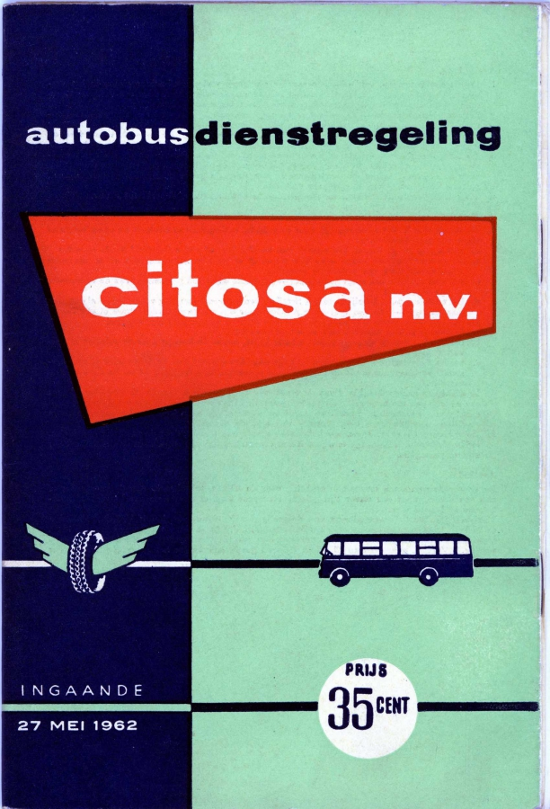 Citosa dienstregeling 1962-a