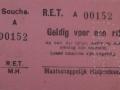 RET 1928 enkele reis Maatschappelijk Hulpbetoon -a