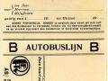 RET 1928 persoonlijk abonnement buslijn B -a