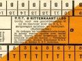 RET 1930 8-rittenkaart buitenlijnen 1,20 -a