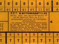 RET 1930 8-rittenkaart buitenlijnen 1,40 -a