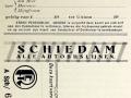 RET 1930 abonnement buslijnen Schiedam. -a