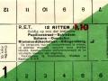 RET 1931 12-rittenkaart buitenlijnsecties 1,10 -a