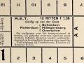 RET 1932 12 rittenkaart buitenlijnen 1,50 -a