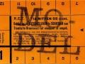 RET 1933 12-rittenkaart buslijnen schiedam 55 cts -a