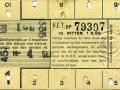 RET 1934 10-rittenkaart 0,50 -a