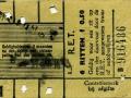 RET 1934 6-rittenkaart 0,50 -a