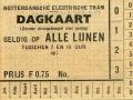 RET 1934 dagkaart alle lijnen 0,75 -a