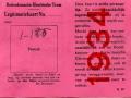 RET 1934 legitimatiekaart blinden (K18) -a