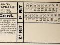 RET 1934 overstapkaart 15 cent. -a