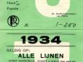 RET 1934 persoonlijk abonnement Politie alle lijnen -a