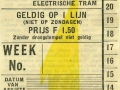 RET 1934 weekkaart 1 lijn 1,50 -a