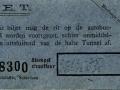 RET 1935 plaatsbewijs aansluiting bus H -a