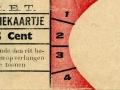 RET 1936 enkele reis sectiekaartje 5 cts -a
