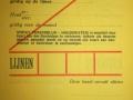 RET 1936 persoonlijk maandabonnement werkdagen 3 lijnen -a