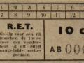 RET 1936 sectiekaartje 10 cts -a