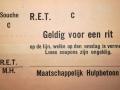 RET 1940 10-ritten couponboekje blinden -a