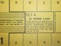 RET 1940 10-rittenkaart secties of kinderkaart voorzijde -a