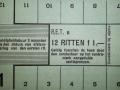RET 1940 12-rittenkaart 1,- voorzijde -a