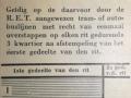 RET 1940 8-rittenkaart gemeentepersoneel 1,- voorzijde -a