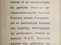 RET 1940 8 rittenkaart met overstap 1,- achterzijde -a