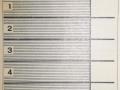 RET 1940 8 rittenkaart met overstap 1,- voorzijde -a