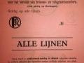 RET 1940 abonnementskaart PTT alle lijnen (K28) -a