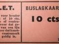 RET 1940 bijslagkaartje 10 ct voorzijde -a