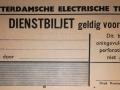 RET 1940 dienstbiljet voorzijde -a