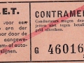 RET 1940 enkele reis contramerk 3 -a
