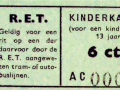 RET 1940 kinderkaartje 6 cts. -a