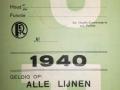 RET 1940 persoonlijk abonnement politie -a
