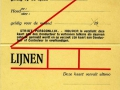 RET 1940 persoonlijk maandabonnement 2 lijnen 8,50 (W2) -a