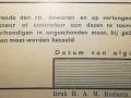 RET 1940 restitutiebiljet buitenlijnen achterzijde -a