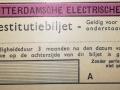 RET 1940 restitutiebiljet buitenlijnen voorzijde -a