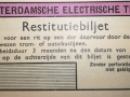 RET 1940 restitutiebiljet voorzijde -a