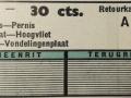 RET 1940 retourkaartje 30 ct buitenlijnen voorzijde -a