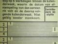 RET 1940 schoolkaart 60 ct voorzijde -a